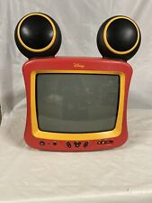 "Vintage Disney Mickey Mouse Television 13"" Works Great."