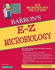 Barron's e-Z: E-Z Microbiology by Rene Kratz (2011, Paperback)