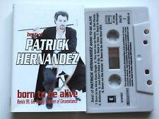 PATRICK HERNANDEZ . BEST OF . TAPE . CASSETTE AUDIO . K7