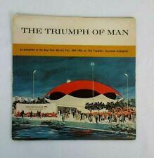1964-1965 New York WORLD'S FAIR Travelers Insurance THE TRIUMPH OF MAN Record