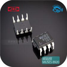 MUSES8920 dual op amp JRC straight plastic DIP8 new original authentic