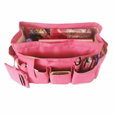 LUXURY  Zipped Shaper Bag Purse Organizer Liner For Neverfull GM - PINK