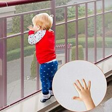 Child Safety Net,Durable Banister Guards for Kids Safety for Indoor White