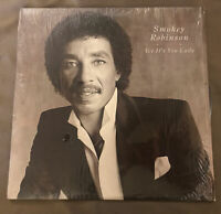 Smokey Robinson - Yes It's You Lady - Vinyl LP Record Album In Shrink Record