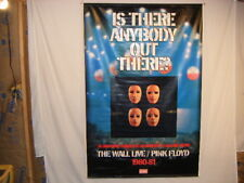 Pink Floyd The Wall Live Banner Is There Anybody Out There Artist Signed Vegro