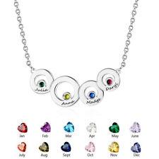 124b83a3d412 Nombre Personalizado Personalizado Familia de piedra collar colgante regalo  de Día de las madres  61
