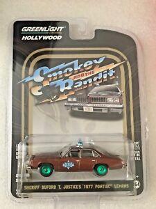Greenlight Pontiac Lemans 1977 Smokey & the Bandit Sheriff Buford T 1/64 CHASE
