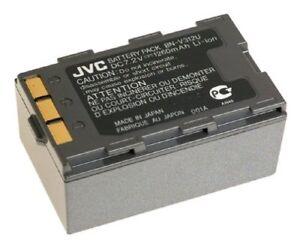 TWO Original JVC Digital Video Camera Battery Packs BN-V312U 7.2V 1260mAh NEW