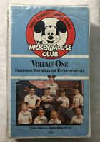 The Mickey Mouse Club Volume One VHS NEW! Clam Shell case.  annette funicello ++