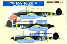 KORA Decals 1/72 Finnish PETLYAKOV Pe-2 Bomber with Resin Conversion Parts