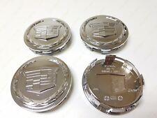 4PCS 83mm Chrome Center Caps Cadillac Escalade 2007-2013 ESV EXT 9595891