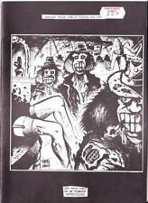 STICKY THIGH COMICS #1 - 1980 British underground comic - Martin Longley art
