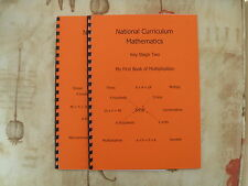 National Curriculum Key Stage 2  First Multiplication Books 1 & 2