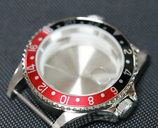GMT style watch case ETA 2836, ETA 2824-2 Seagull ST1612, Miyota 8205