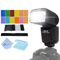 Meike MK-910 Flash Speedlite i-TTL HSS 1/8000s for Nikon SB900 SB910+gift