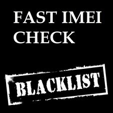 FAST iPhone BLACKLIST CHECK blocked lost stolen at&t tmobile verizon sprint