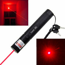 High Power 650nm 5mW Red Laser Pointer Pen Pet Cat Toy Rechargeable 18650 Light