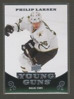 (70720) 2010-11 Upper Deck Young Guns PHILIP LARSEN #218 RC