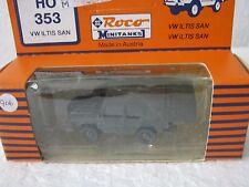 ROCO Minitanks ho/1:87 358 VW ILTIS BW paramedici/Sanni carrello (cc/1010-8r6/6)