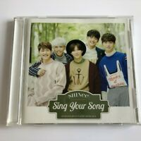 SHINee Sing Your Song JAPAN CD