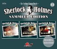 SHERLOCK HOLMES SAMMLER EDITION - FOLGE 12  3 CD NEW