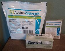 4 tubes Advion Roach Gel & 60 Bait Stations & 20 Gentrol Point Source IGR Discs