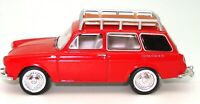 1:64 1965 VW TYPE 3 STATION WAGON - RED - NEW - SUPERB DETAIL