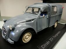 1/18 Norev Citroen 2CV Fourgonnette AK350 1966 neve blau 181491