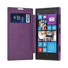 Etui Porte Carte pour Nokia Lumia 1020 couleur Violet + Film de Protection