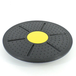360 Degree Fitness Rotation Massage Stability Disc Round Plates Board