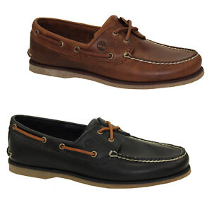 Timberland Classic Boat Shoes 2-Eye Deck Shoes Men Boots Shoes