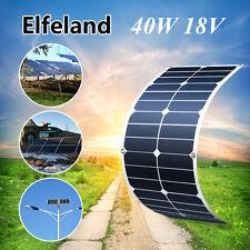 SUNPOWER ELFELAND 40WATT 40W 18V SOLAR PANEL MONO FOR BATTERY CHARGER BOAT MC4