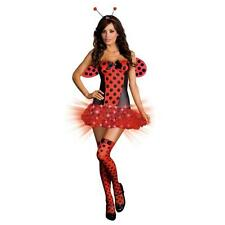 New Light Me Up Ladybug Costume Adult Halloween Fancy Dress 8 PIECE