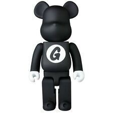 $85 Medicom Goodenough Black 400% Bearbrick Figure black