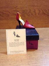 Raine Just the Right Shoe Coa Box Red Devil 25082