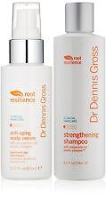 Dr. Dennis Gross Anti-Aging Scalp Serum, 2 Fl oz & Strengthening Shampoo 8 FL oz