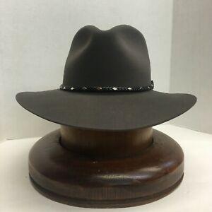 Stetson® 5X DIAMOND JIM CARIBOU Felt Hat With Free Hat Brush