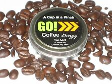GO! Fine Mint Coffee Energy - Weight Loss - Tobacco Alternative - Coffee You Eat