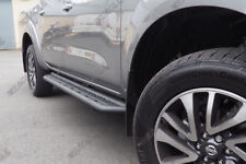 PEDANE LATERALI BARRE per Nissan Navara NP300 2016 SU NERO