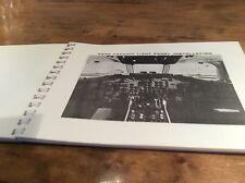 1960's DOUGLAS AIRCRAFT DC 9 STALL CHARACTERISTICS  REVIEW PILOT MANUAL ORIG
