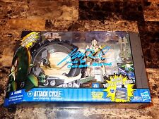 Star Wars Rare General Grievous Signed Action Figure Attack Cycle Matthew Wood +