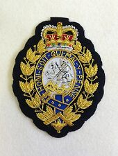 RRF Blazer Badge, Embroidered, Army, Jacket, Military, Royal Regiment Fusiliers