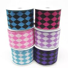 Harlequin Diamond Print Ribbon, 2-1/2-inch, 10-yard