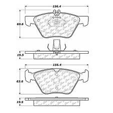 Centric Parts 105.07400 Front Super Premium Ceramic Brake Pads
