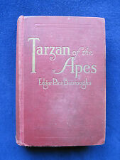 TARZAN OF THE APES by EDGAR RICE BURROUGHS 1st Ed / 1st Binding - Rarest State