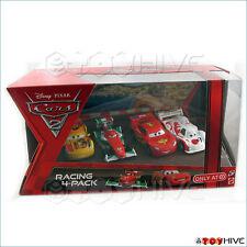 Disney Pixar Cars Racing 4 Pack Camino Bernoulli McQueen Shu Todoroki Target set