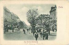 Les Grands Boulevards, Paris France 1903