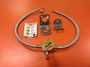 CROSSFIRE TIRE EQUALIZER SYSTEM 110 PSI STAINLESS STEEL HOSES freightliner mack