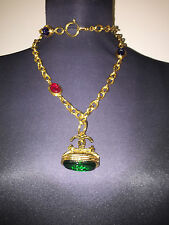 CHANEL necklace very RARE gripoix AMAZING, collector impossible to find