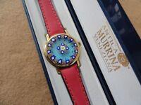 New Antica Murrina Veneziana Quartz Ladies Watch - Pretty Dial and a Red Band